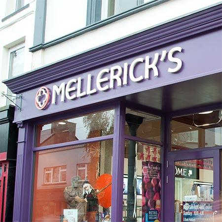 Mellerick's Pharmacy shop front