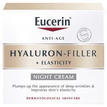 EUCERIN HYALURON FILLER PLUS ELASTICITY FILLER NIGHT CREAM 50ML