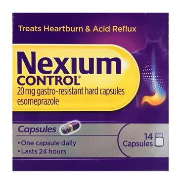 NEXIUM CONTROL 20MG 14 CAPS