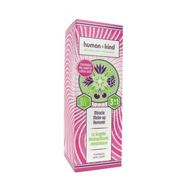 HUMAN AND KIND MIRACLE MAKE UP REMOVER 1S