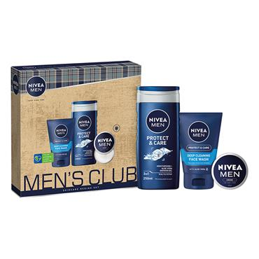 NIVEA MEN'S CLUB SKIN CARE REGIME SET