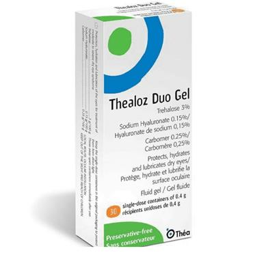 THEALOZ DUO GEL 0 4G 30S