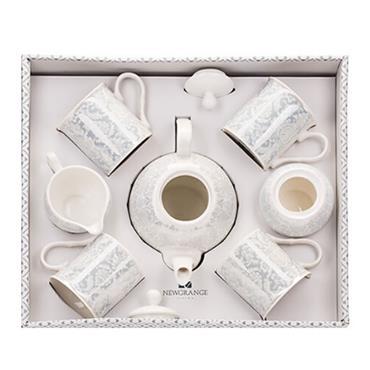 BELLA 7PCE BONE CHINA TEA SET