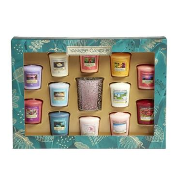 YANKEE 12 VOTIVE CANDLE GIFT SET