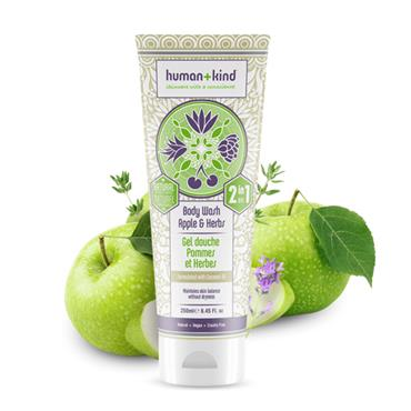 HUMAN AND KIND APPLE N HERBS SHOWER GEL 200ML