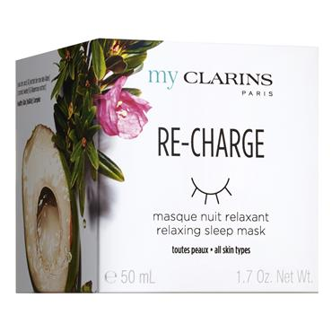 MY CLARINS RECHARGE RELAXING SLEEP MASK 50ML