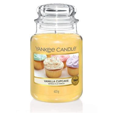 YANKEE CANDLE EVERYDAY CLASSIC LARGE JAR VANILLA CUPCAKE