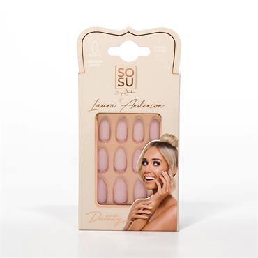 SOSU LAURA ANDERSON DAINTY MED STILETTO NAILS
