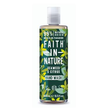FAITH IN NATURE SEAWEED N CITRUS HANDWASH 400ML
