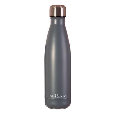 Grey Stainless Steel Bottle