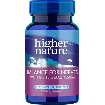 HIGHER NATURE BALANCE FOR NERVES 90CAPS