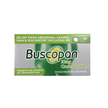 BUSCOPAN 10MG TABS 20TABS PH ONLY