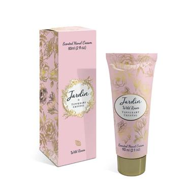 TIPPERY CRYSTAL JARDIN 60ML HANDCREAM - WILD ROSES