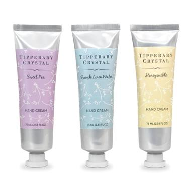 TIPPERARY CRYSTAL HAND CREAM TRIO