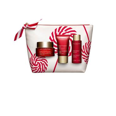 CLARINS SUPER RETORATIVE SET 3 PIECE
