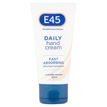 E45 DAILY HAND CREAM 50ML