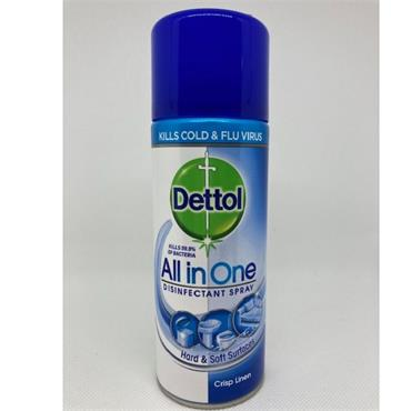 DETTOL DISINFECTANT ALL IN ONE SPRAY LINEN