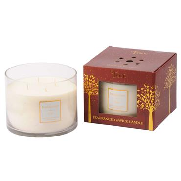 TORC 4 WICK CANDLE FRANKINCENSE
