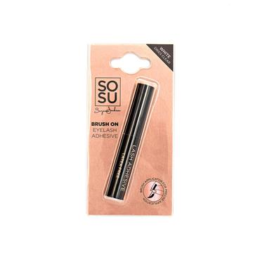 SOSU BRUSH ON EYELASH ADHESIVE 5ML
