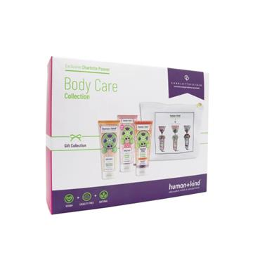 GIFT HUMAN AND KIND CHARLOTTE POSNER BODY CARE GIFT COLLECTION 4 PACK