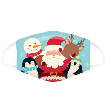 CHRISTMAS ANIMALS FACE COVER SMALL