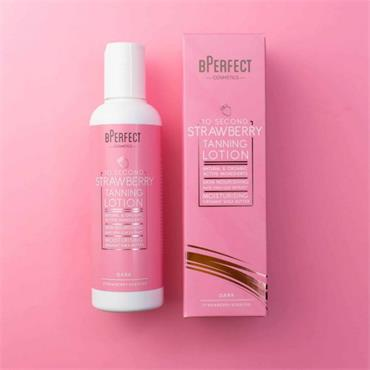 BPERFECT 10 SECOND TAN DARK STRAWBERRY LOTION 200ML