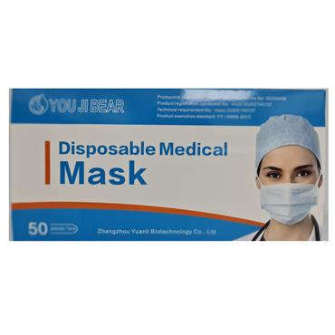 FACE MASK DISPOSABLE FACE MASK 50S