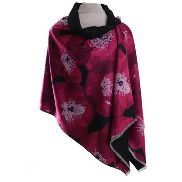 ZELLY PINK POPPIES WRAP DESIGN