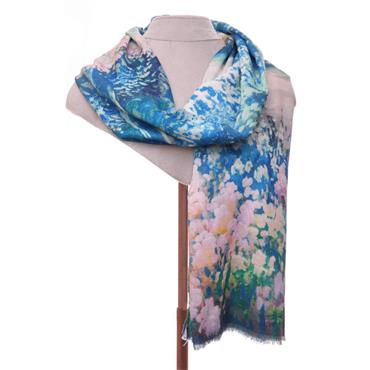 ZELLY GREEN LUXURY SCARF 530508