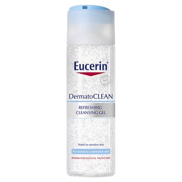 EUCERIN DERMATO CLEAN REFRESHING CLEANSING GEL 200ML