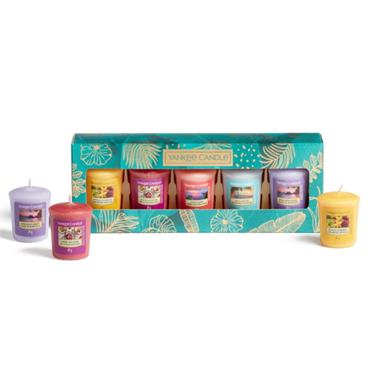 YANKEE 5 VOTIVE CANDLE GIFT SET