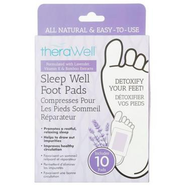 THERAWELL SLEEP WELL PADS 10 PACK