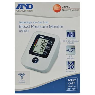 A N D MEDICAL AUTOMATIC BLOOD PRESSURE MONITOR