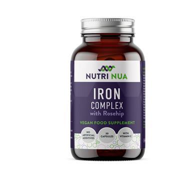 NUTRI NUA IRON COMPLEX 30 CAPS