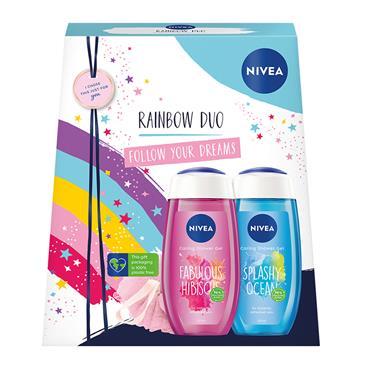 NIVEA RAINBOW DUO SHOWER GEL