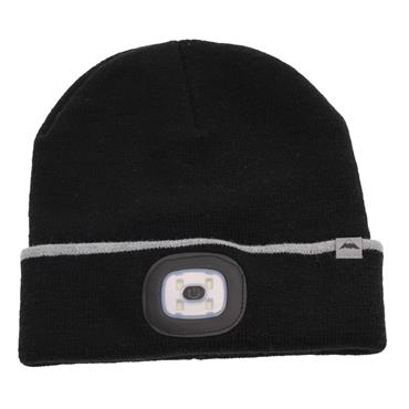 SOMETHING SPECIAL RECHARGABLE LED TORCH HAT 1PACK