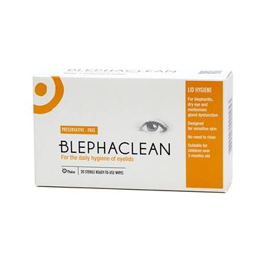 BLEPHACLEAN WIPES 20 PK