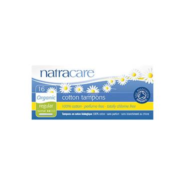 NATRACARE ORG APPLICATOR TAMPON REGULAR 1X16PK