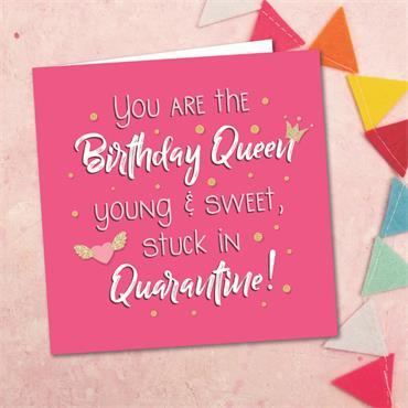 Birthday Queen Card