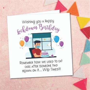 Birthday Wild Times Card
