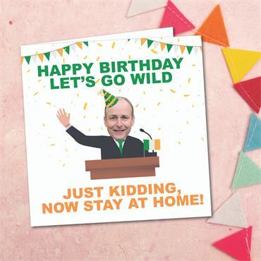 Michael Martin Birthday Card