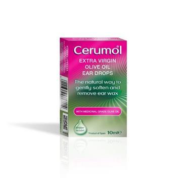 CERUMOL OLIVE DROPS 10ML