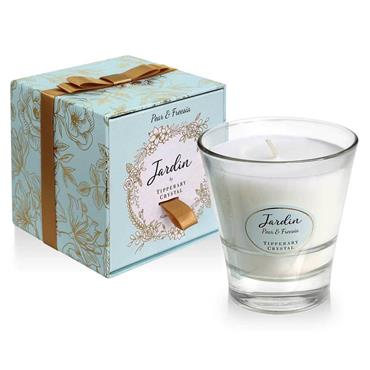 JARDIN BY TIPPERARY CRYSTAL CANDLE PEAR FREESIA