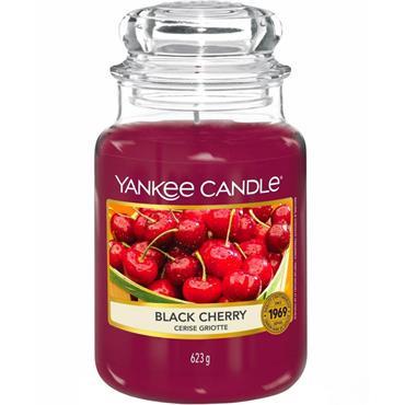 YANKEE CANDLE EVERYDAY CLASSIC LARGE JAR BLACK CHERRY