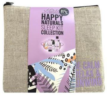 HAPPY NATURALS SLEEP COLLECTION BATH SOAK,HAND CREAM ,PILLOW MIST & EYE MASK