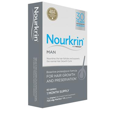 NOURKRIN MAN  FOR HAIR PRESERVATION 60 TABS