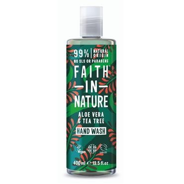 FAITH IN NATURE ALOE VERA HANDWASH 400ML