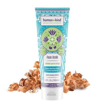 HUMAN AND KIND FACE SCRUB 100ML
