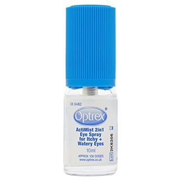 OPTREX ACTIMIST 2IN1 ITCHY N WATERY EYE SPRAY 10ML G