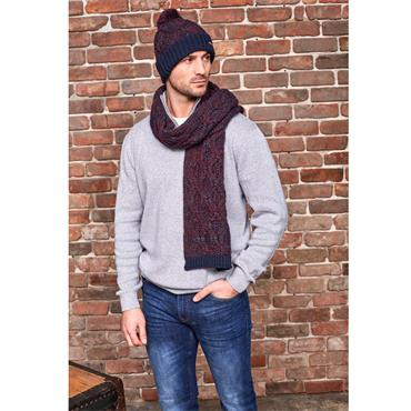 SOMETHING SPECIAL CHUNKY KNIT HAT N SCARF SET MENS1PACK